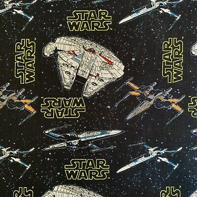 FQ DISNEY STAR WARS MILLENIUM FALCON SPACE JEDI FABRIC CHARACTER
