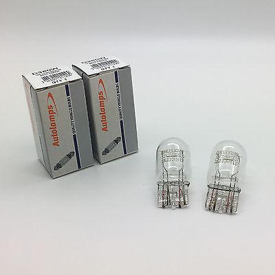 2 x Autolamps 380W W215W Capless Brake Stop  Tail Light Bulb 580 12v 215w