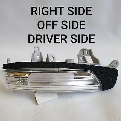 TOYOTA PRIUS 2009-> CLEAR DOOR MIRROR INDICATOR LIGHT O/S DRIVER RIGHT