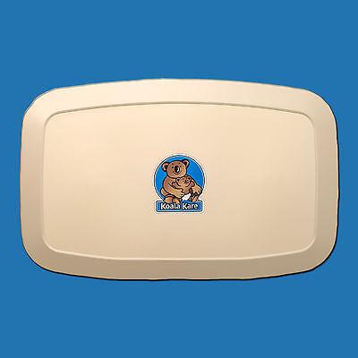 Koala Kare Baby Changing Station Kb200-00 Cream Horizontal Surface Mounted