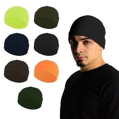 Mato & Hash 100% Fine Wool Knit Military Style Watch Cap Beanie - Style Knit Beanie Hat