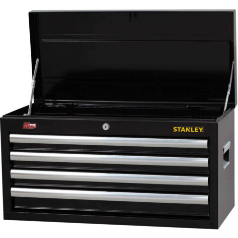 Stanley Tool Box 4 Drawer Top Chest Ball Bearing Slides