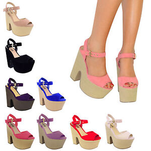 LADIES-WOMENS-PLATFORM-HIGH-HEELS-PEEPTOE-BLACK-SUMMER-SANDALS-WEDGES-SHOES-SIZE
