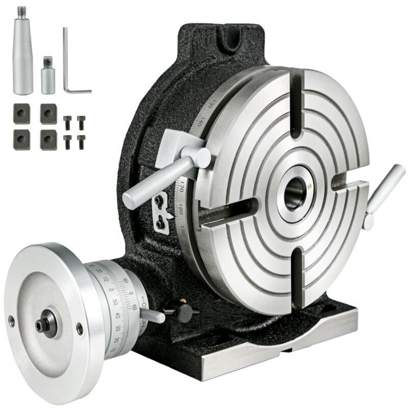 """VEVOR 8"""" Precision Horizontal and Vertical Rotary Table"""