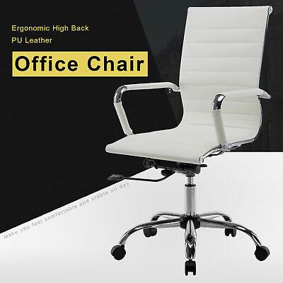 High Back Office Computer Chair Executive Task Ergonomic Computer Desk Seat