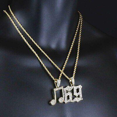 Mans  Hip Hop Gold Plated