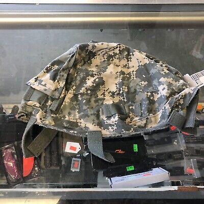 ACU Digital Camo Advanced Combat Helmet Cover small/medium  NEW