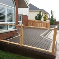 deck and fences landscaping