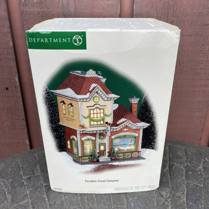 Department 56 - Christmas In The City - Paradise Travel Company