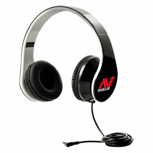 """Minelab Wired Headphones with 3.55 mm 1/8"""" Jack Connector 3011-0364"""