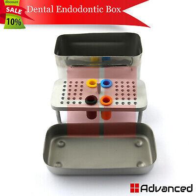 Endodontic Rotary Files Box Reamers Endo Storage Box Holder Dental Diamond Bur
