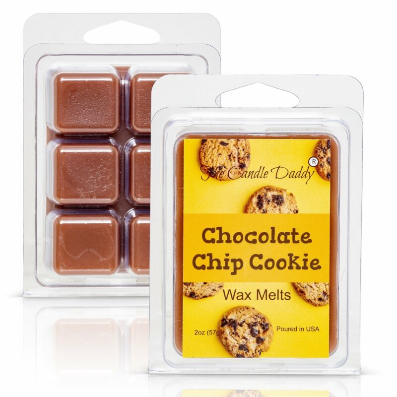 Chocolate Chip Cookie - Fresh Baked Cookie Scented Melt- Maximum Scent Wax Cubes