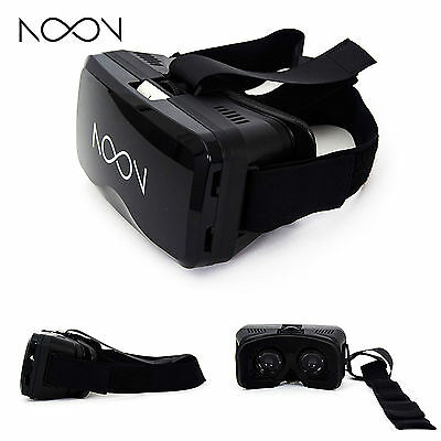 Brand New! NextCore Noon VR Headset for Android/iOS Smartphones [ Black ]
