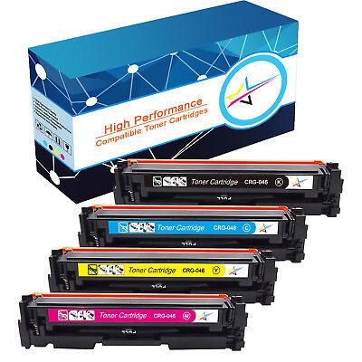 4 Pack 046 Toner Cartridges for Canon Color imageCLASS MF733Cdw MF735Cdw Printer