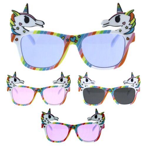 Girls Kids Unicorn Fun Pop Party Shade Sunglasses