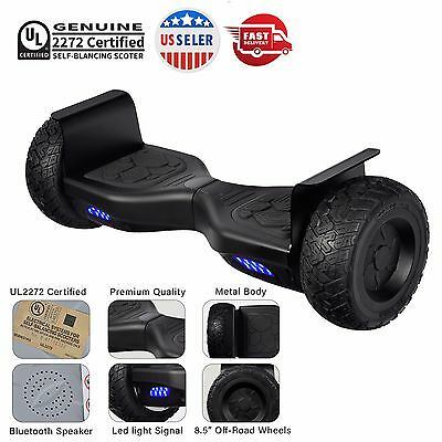 All Terrain Off Road Bluetooth Self Balancing Hover Board Real UL2272 Certified