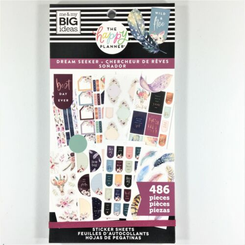 The Happy Planner Dream Seeker Sticker Book Pack Of 486 Me & My Big Ideas