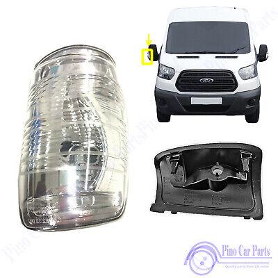 Front RH Door Wing Mirror Indicator Lamp Light Lens Ford Transit MK7 MK8 1847389
