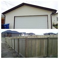 GARAGE & FENCE BUILDER