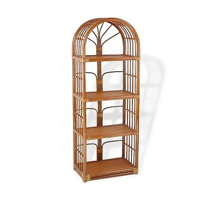 Rack Shelf Storage Natural Rattan Wicker Handmade LOCAL PICKUP -