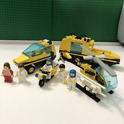 Lego 1896 Classic Town TRAUMA TEAM 98% Complete Hospital 1992
