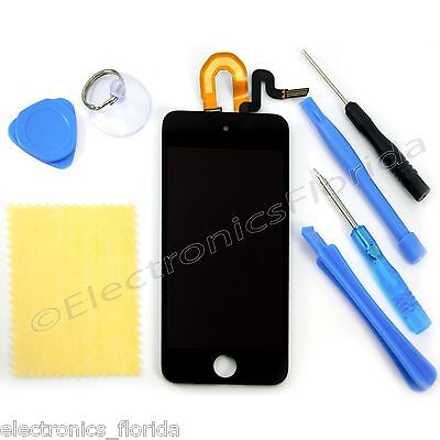 iPod Be on an equal footing with 5th Gen LCD Screen Replacement Digitizer Glass Assembly Black tools