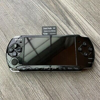 Sony PlayStation Portable PSP-3001 Handheld Game System -Black- NO CHARGER