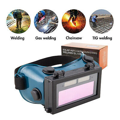 Auto Darkening Welding Goggles Safety Glasses Flip Up Lens Eye Protection