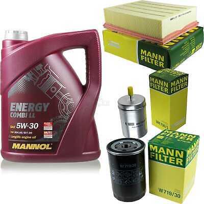 Inspection Set 5L Mannol Energy Combill 5W30 Motor Oil + Mann Filter 10766516