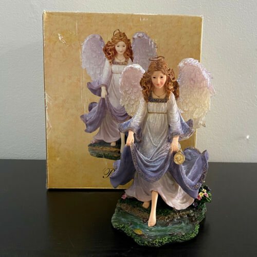 Boyds Charming Angels Brooke Guardian Summer Mint in Box with Charm Rare