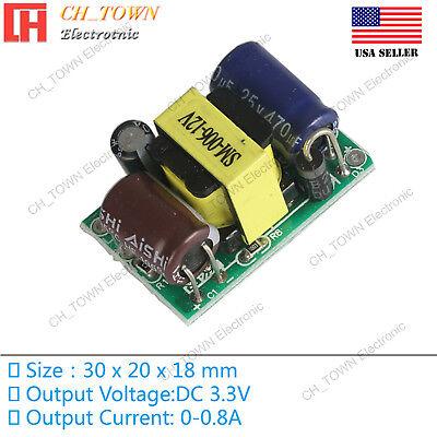 Ac-dc 3.3v 800ma 3w Power Supply Buck Converter Step Down Module High Quality Us