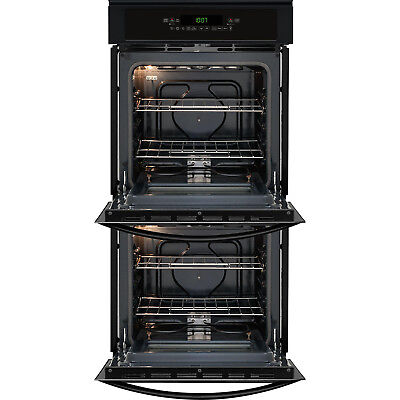 "Kenmore 40259 24"" Electric Manual Clean Double Wall Oven - Black, NIB"