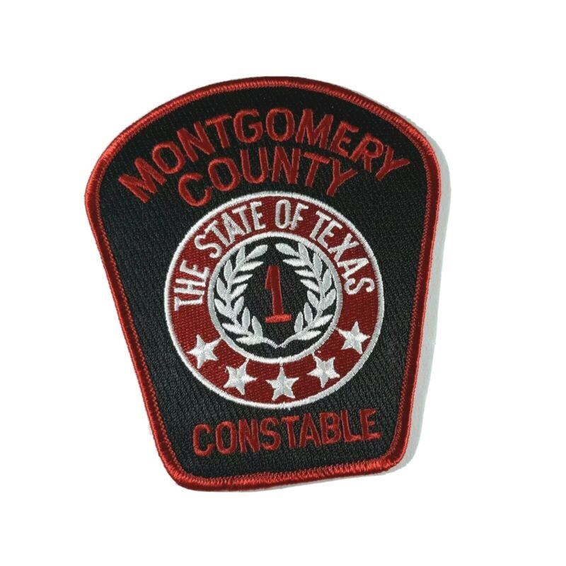 "Montgomery County Constable TX Texas Law Enforcement 4.5"" Shoulder Patch"