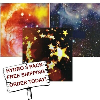 Hydrographic Film Water Transfer Printing Film Hydro Dip Star 3 Pack