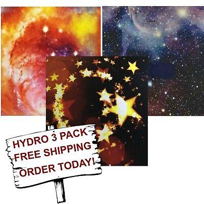 Hydrographic Film Water Transfer Printing Film Hydro Dip Star 3 Pack