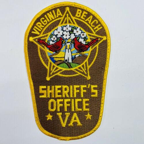 Virginia Beach Sheriff Virginia VA Patch (B6-D)