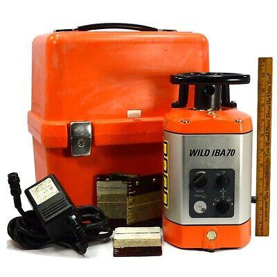 Gently Used Leica Wild Iba70 Internal Rotary Laser Level Beam In Original Case