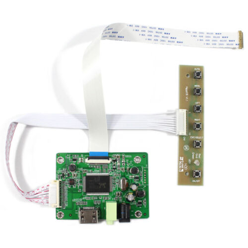 """HDMI LCD Controller Board For 11.6"""" 13.3"""" 14"""" 15.6"""" 1366x768 EDP LCD Screen"""