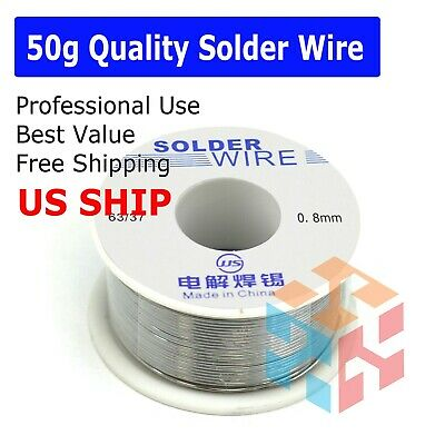 6337 Tin Lead Line Soldering 0.8mm Rosin Core Solder Flux Welding Wire Reel