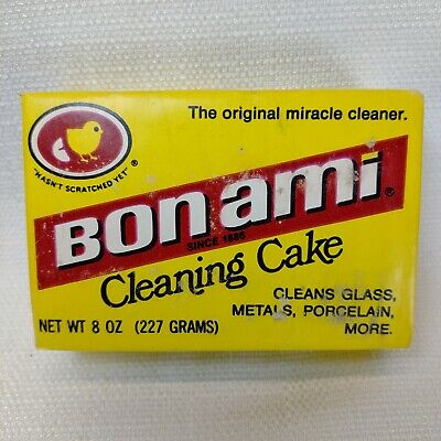 Vintage Bon Ami Cleaning Cake 8 oz Feldspar & Soap New Old Stock Miracle Cleaner