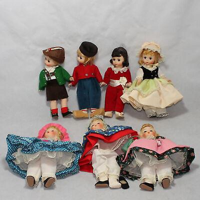 7 Madame Alexander Dolls  8 inch Story Land CB01106