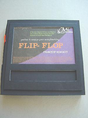 Flip Flop Desktop Mini Album Halloween Bänder Epoxy Sticker CreaMotion
