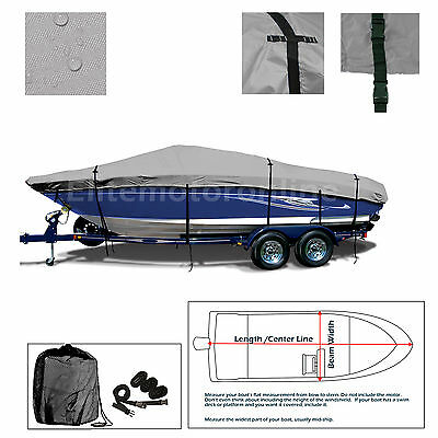 Advantage 29 X-Flight Trailerable performance Jet Boat Cover Grey