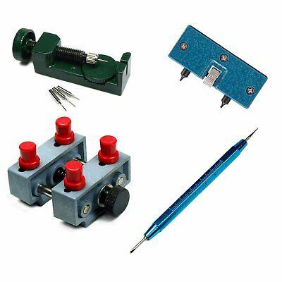 Watch Repair tool Kit - Case Opener Case Holder Link Pin Remover Spring Bar Tool