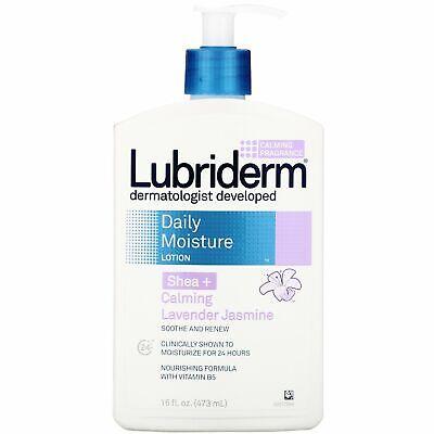 Lubriderm Shea + Calming Lavender Jasmine - 16 oz