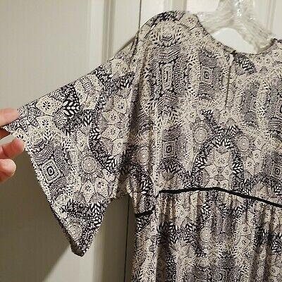 Adorable Empire's Waist Dress Bo Ho Design Loose sz. XXL. : KNOX ROSE; LOOSE