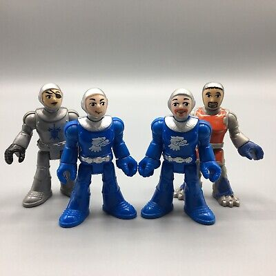 Lot of 4 Fisher-Price Imaginext Medieval Knights Figures