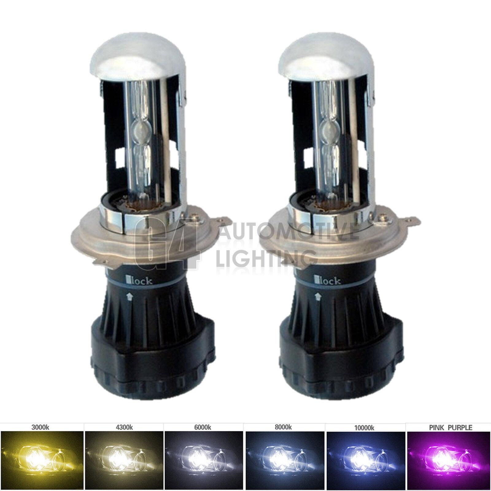 2x NEW Bi-Xenon H4 9003 HB2 HID Bulbs AC 35W Hi//Lo H//L Dual Beam Headlight