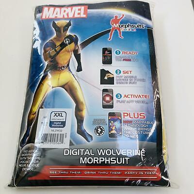 Morphsuits Wolverine Digital Edition XXL Fancy Dress Costume