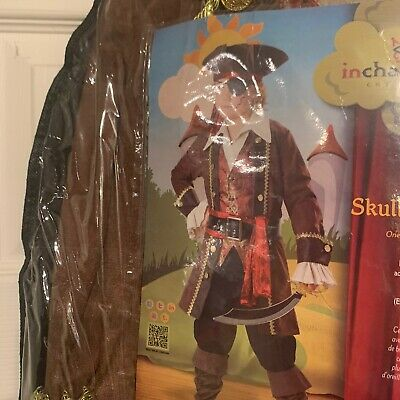 Kids Pirate Boot Covers (NWOT Pirate Costume Child 10 Jacket Vest Pants Dickie Sash Belt Hat Boot)